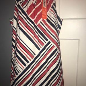 Jude Connally Dresses - Jude Connally Lisa Dress Patchwork Stripe Med Amer